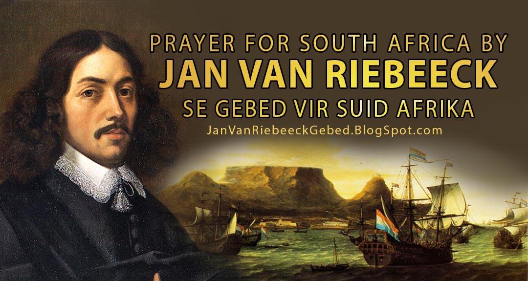Jan van Riebeeck se Gebed vir Suid Afrika