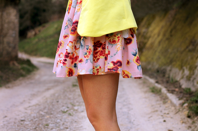 wiosenna letnia sukienka