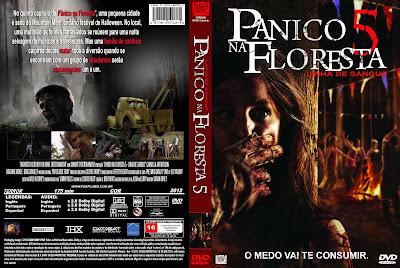 Filme Pânico Na Floresta 5 DVD Capa