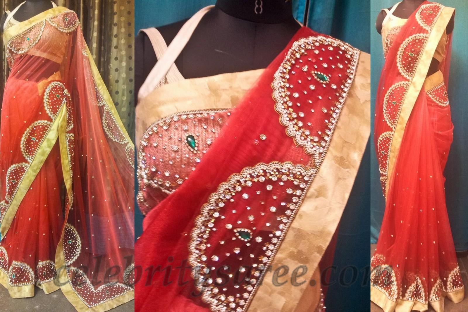 Blouse Designs Work Saree Rldm