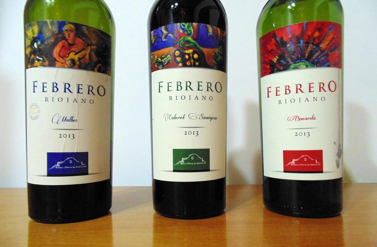 Vinos Febrero Riojano de Aminga, La Rioja