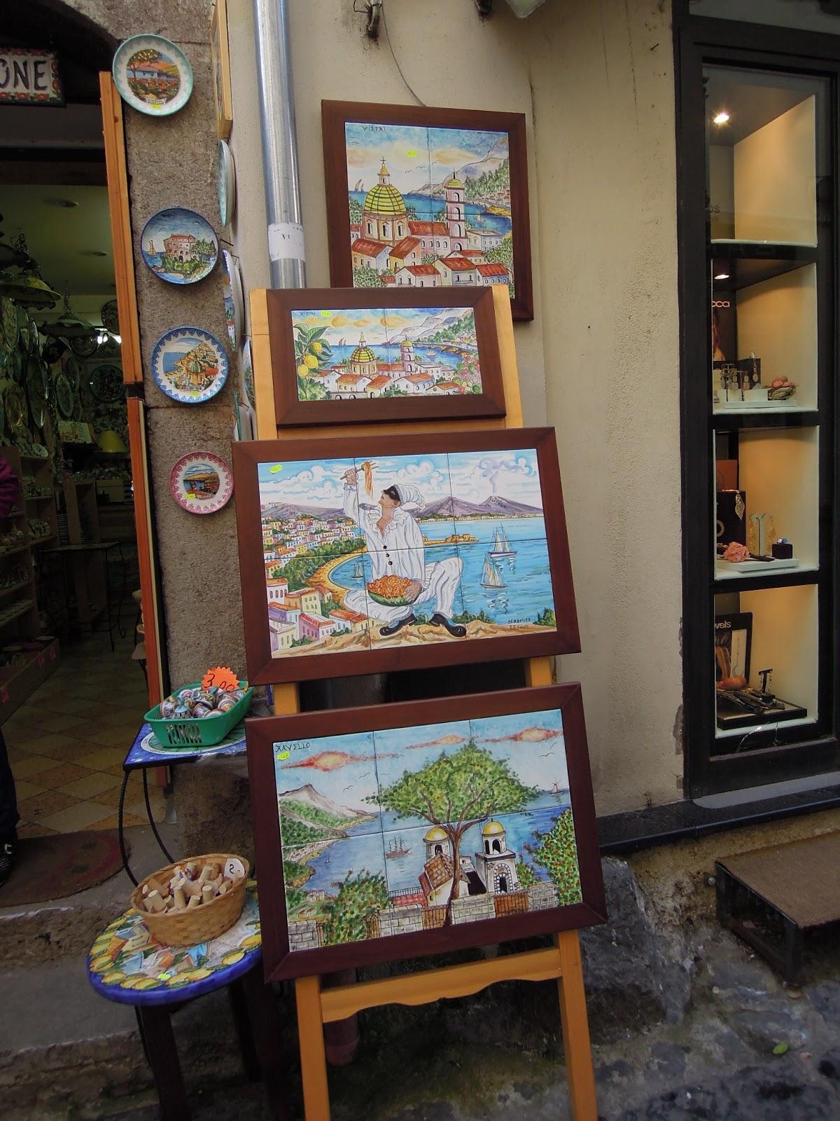 Le ceramiche di Vietri sul Mare