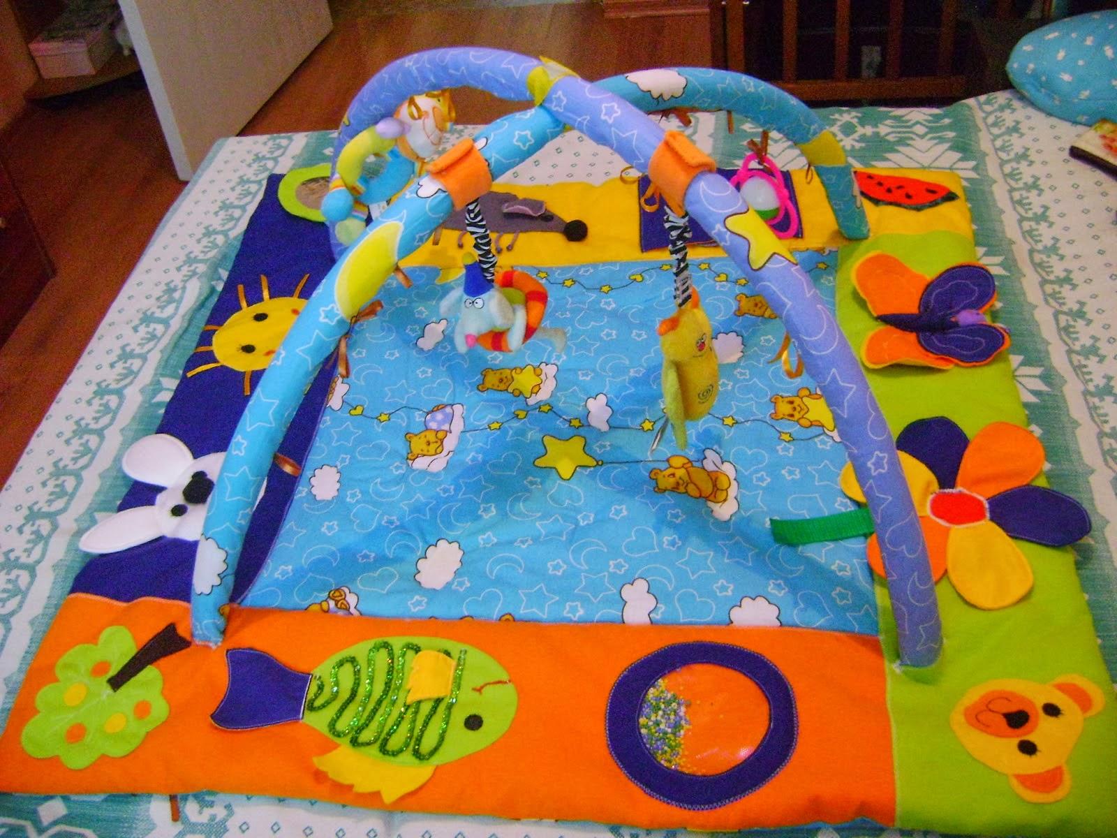 Детские развивающие коврики своими рукам