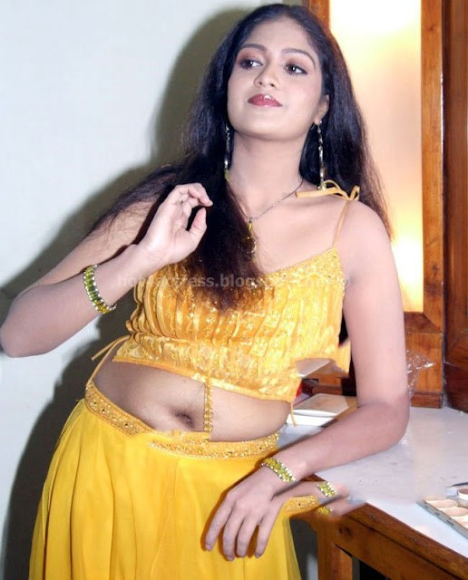 Meghna Raj Hot Navel