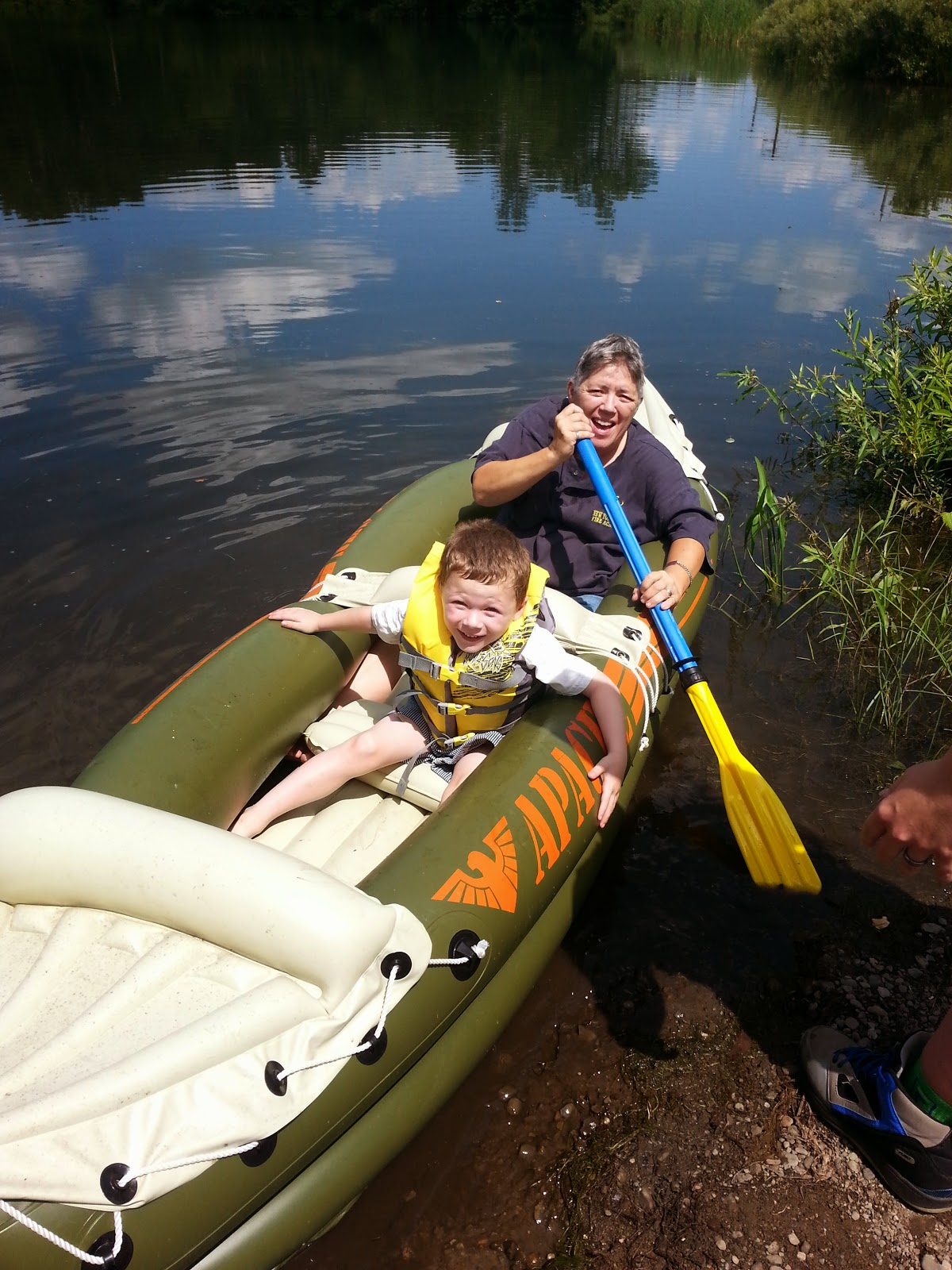 How to: Take your children out on a Canoe
