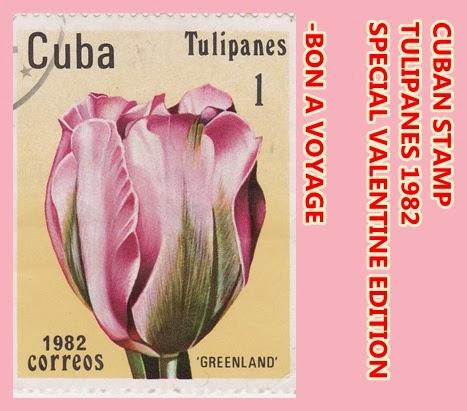 Perangko Tulipanes Cuba - 1982