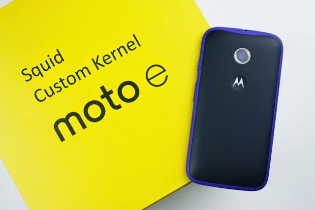 Squid Custom Kernel Moto E 2015 lte (Surnia)