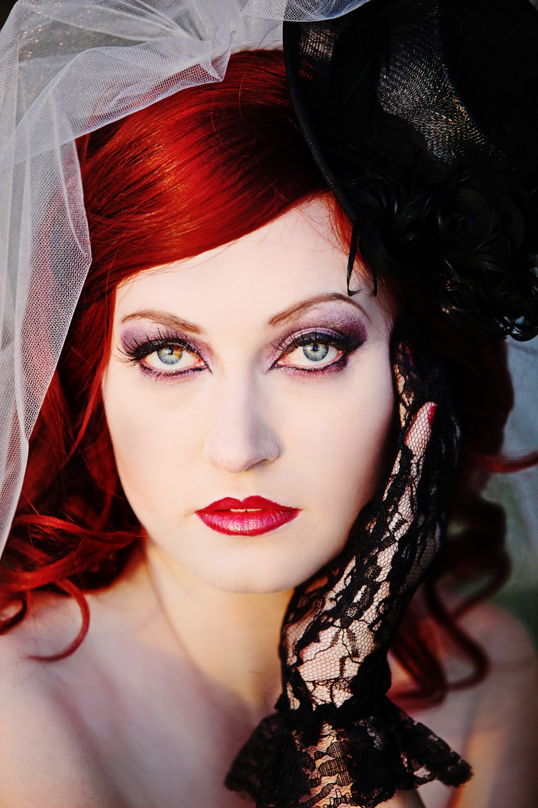 Gothic Wedding Makeup : Your Wedding Idea : Gothic Wedding MakeUp - For Bride
