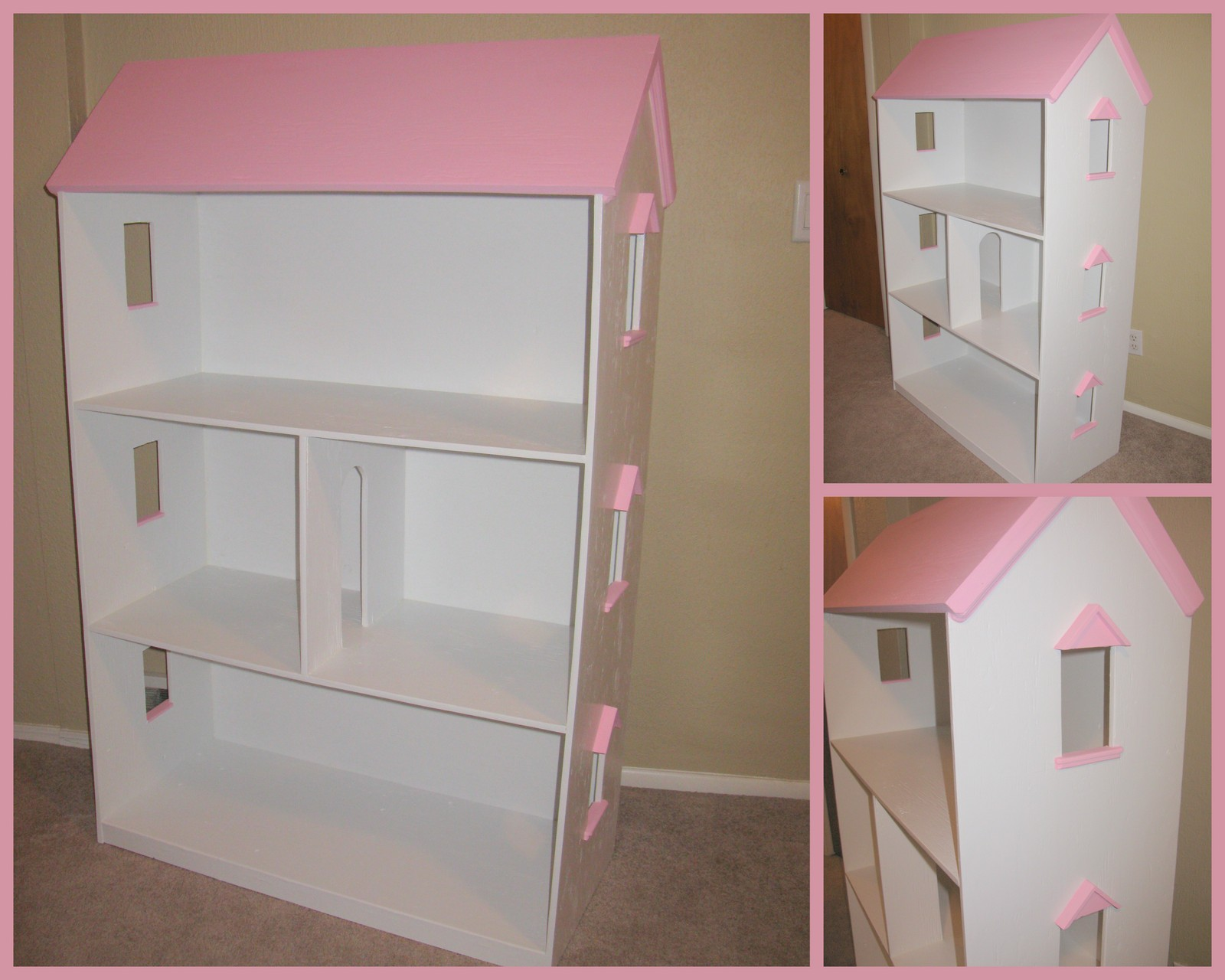 How to make a house for Barbie