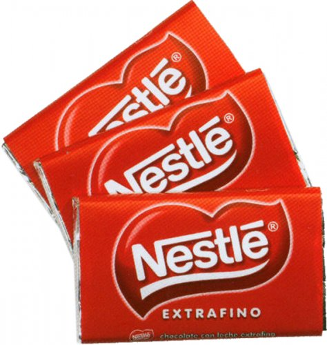 chocolatinas nestle 30g