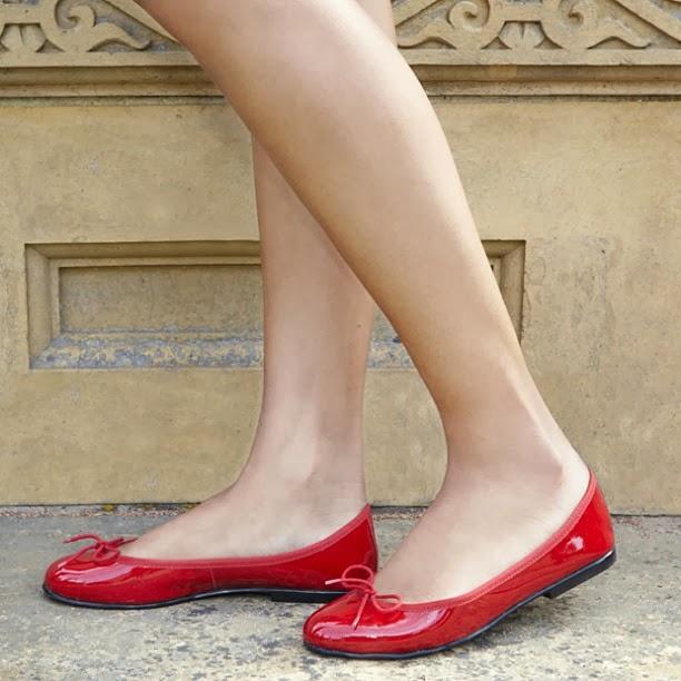 Ballet Slippers London Sole Ballet Flats