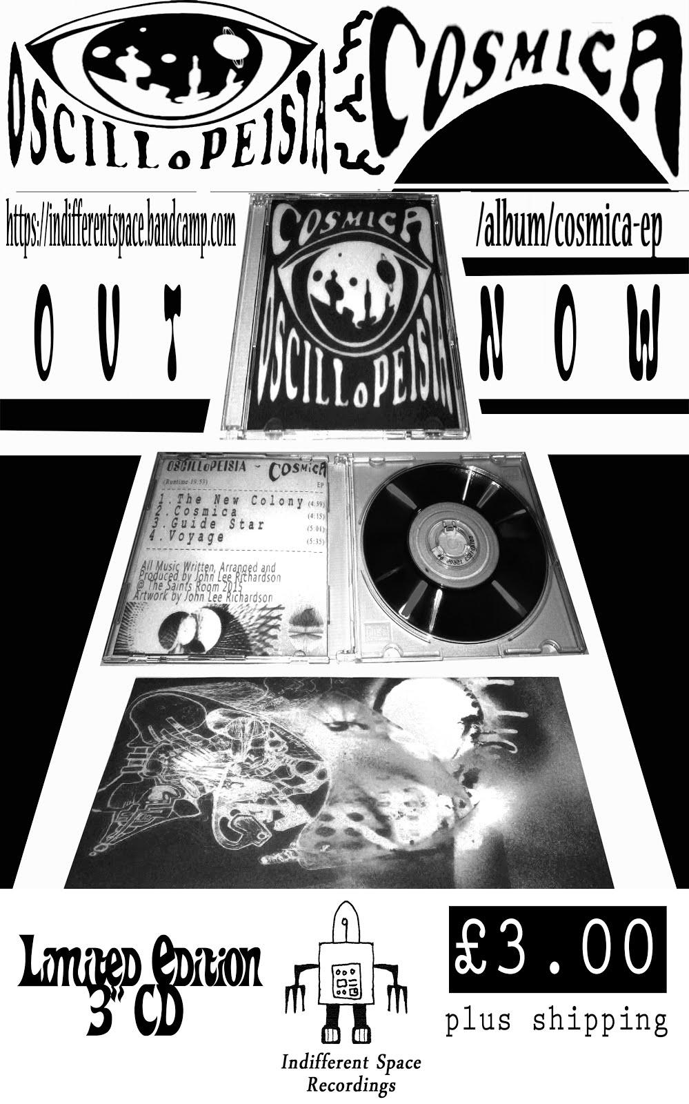 Oscillopeisia - Cosmica EP