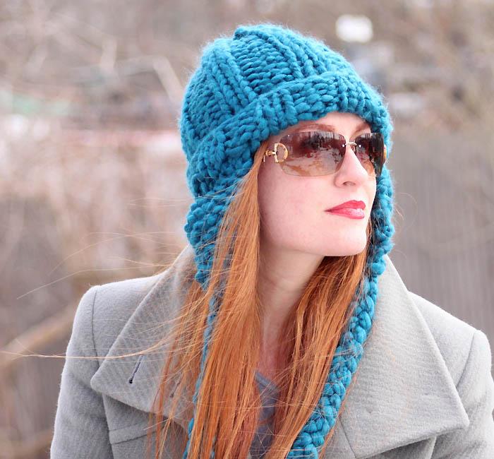 Cobbles Ear Flap Hat Knitting Pattern Gina Michele Bloglovin