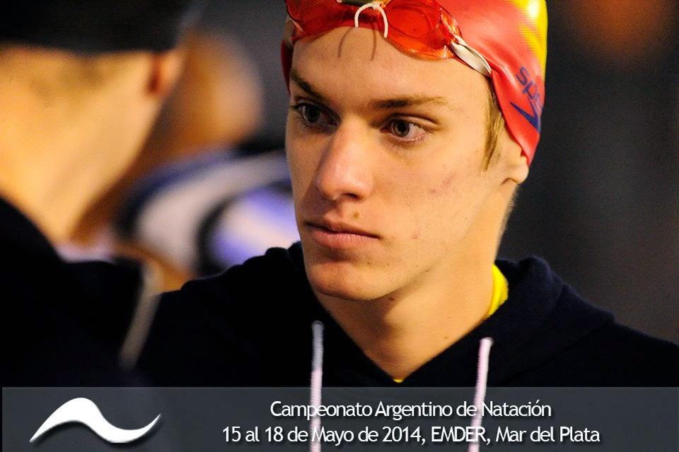 Argentinian swimmers martin naidich federico grabich - Jose santiago vargas ...