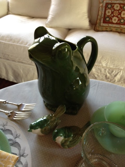 Dressed In Time Tablescape Thursday A Garden Of Jadeite
