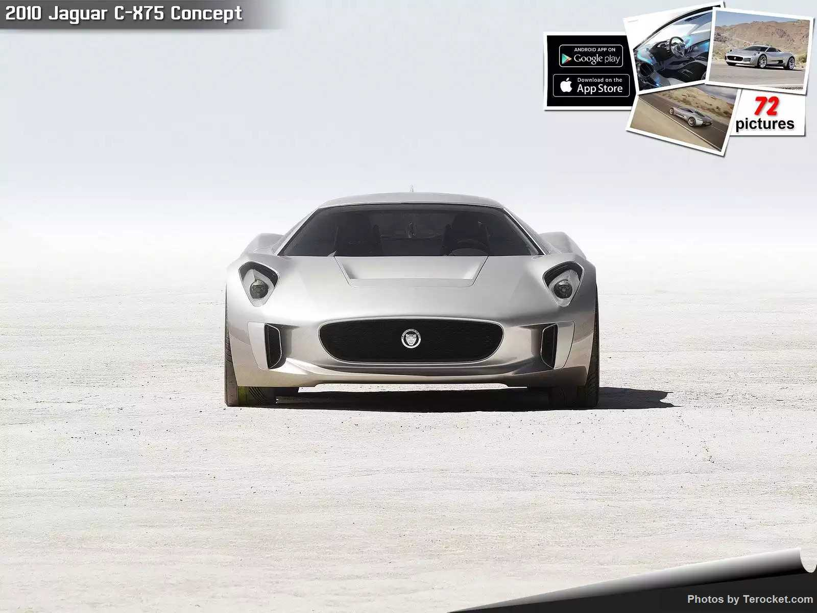 Hình ảnh xe ô tô Jaguar C-X75 Concept 2010 & nội ngoại thất
