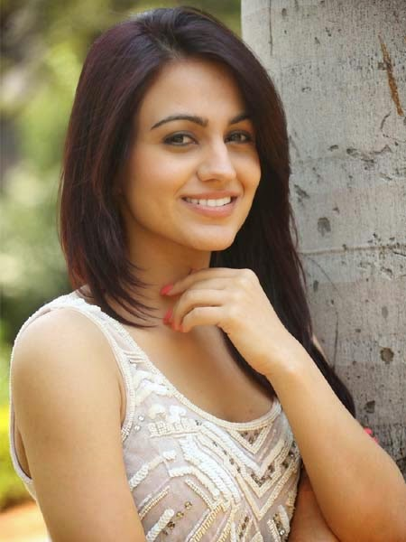 Aksha Stills at Dr Saleem Press Meet Event