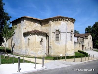 Abadia Arthous, Camino Santiago, Aquitania