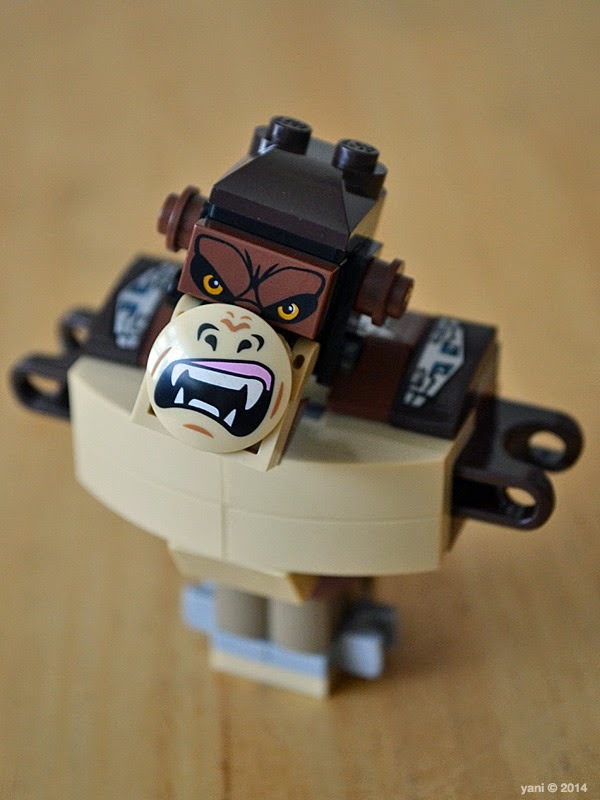 lego chima legend beast gorilla - growl