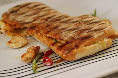 How to Make Marinated Chicken Panini