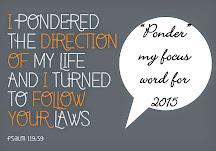 Focus on PONDER in 2015!