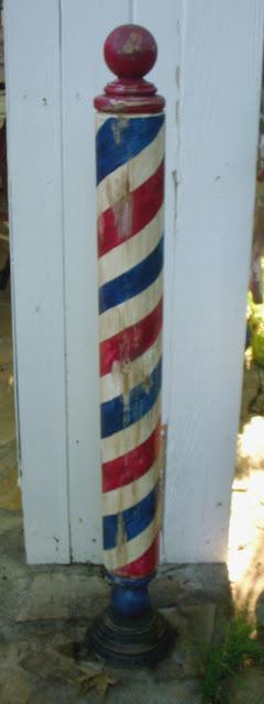 Antique Barber Pole2