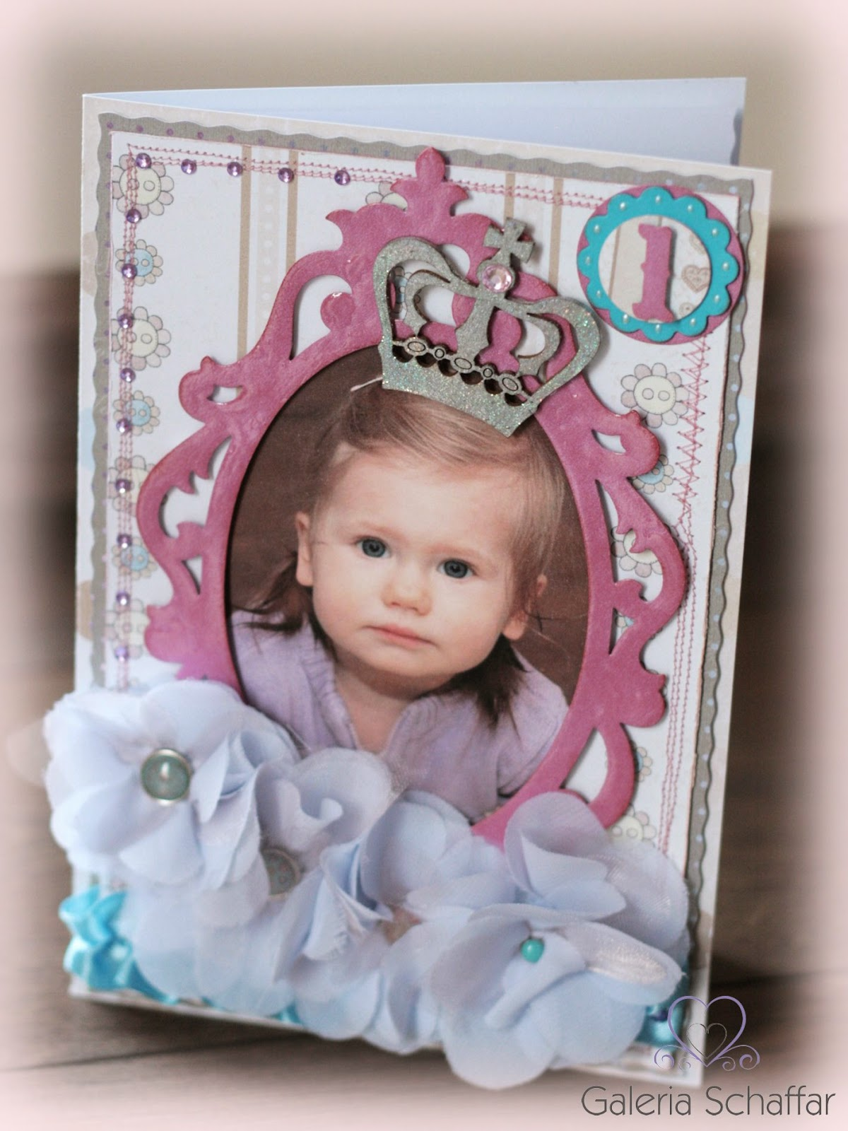 kartka na roczek ze zdjęciem życzenia na zamówienie galeria schaffar rękodzieło papierowe wrocław
