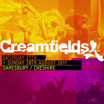 Creamfields 2011, Cheshire