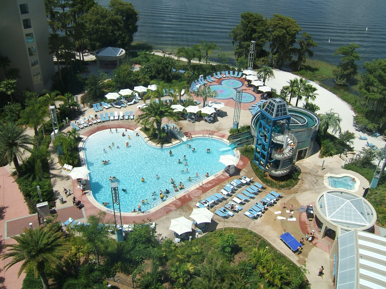 Digital Disney World Ddw Pic 74 Bay Lake Tower Pool