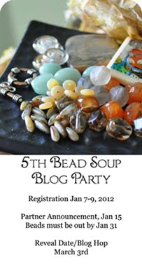 5th Bead Soup Blog Party Sign Ups Jan 7-9