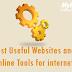 इंटरनेट यूजर्स के लिये बड़े काम के ऑनलाइन टूल