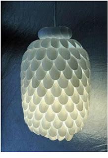 แฟชั่นโคมไฟประดิษฐ์ สร้างจากสิ่งเหลือใช้ ง่าย ๆ