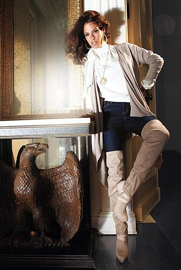 Fashionable Hairs Jennifer Lopez on Lookbook Collection Fall 2011 - 08