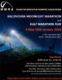 MMRA Moonlight Marathon & Half-Marathon - Fri 10th Jan 2020