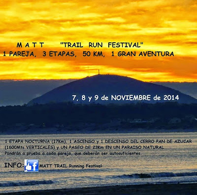 MATT - Festival de trail run en el Pan de Azúcar (07a09/nov/2014)