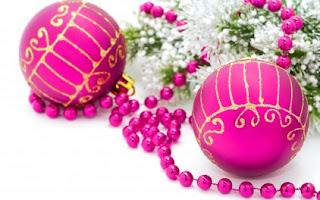 HD Christmas balls Images