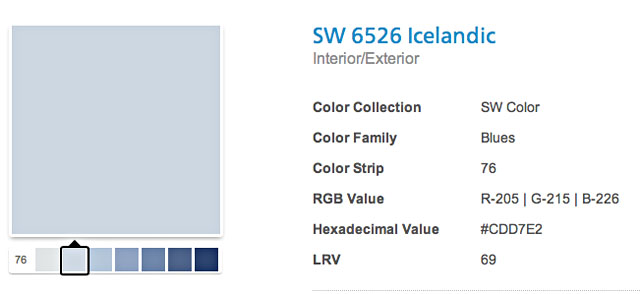 sherwin williams color palettes