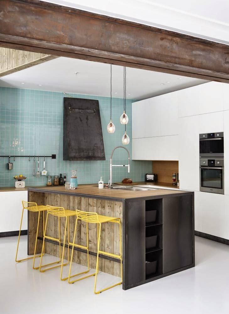decoracin de cocinas pequeas - Cocinas Pequeas De Diseo