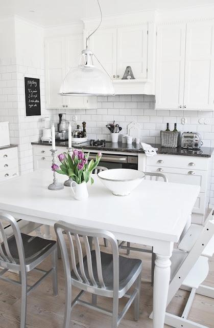 скандинавский дизайн, скандинавский интерьер, белая кухня, скандинавская кухня