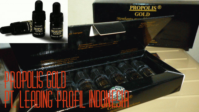 Propolis Gold Leading Indonesia