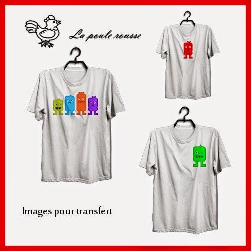 Images digitales de la poule rousse des transferts pour - Transfert pour tee shirt ...