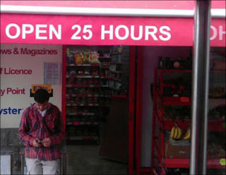 funny picture: open 25 hours