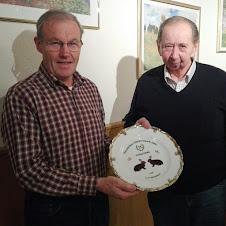 Schneider Rudolf feiert seinen 75. Geburtstag