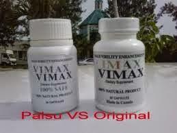 CIRI-CIRI VIMAX PILLS PALSU dan ASLI