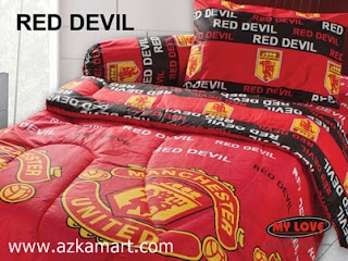 Sprei My Love Red Devil MU