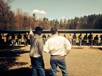Matt Doheny At Fulton County Range With SAFE Protest