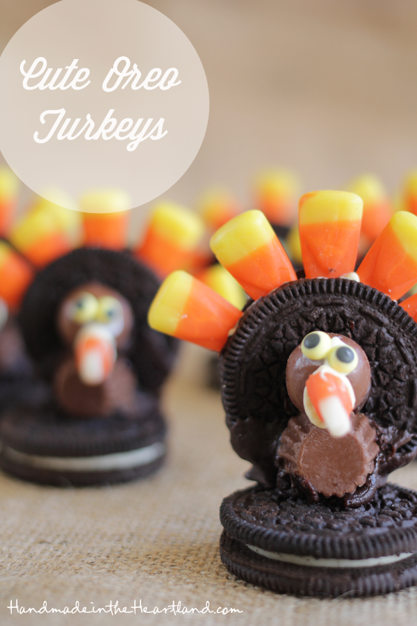 Cute Oreo Turkeys