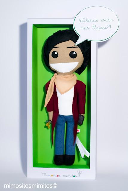 muñeco de tela personalizado hecho a mano handmade craft keka