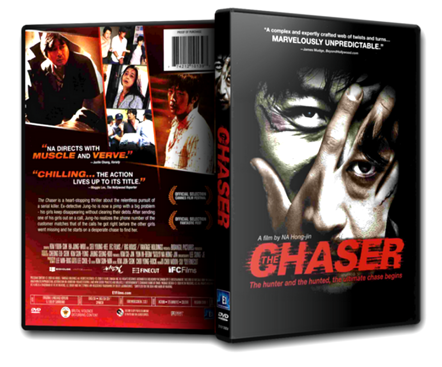 The Chaser Chugyeogja Dvd Case