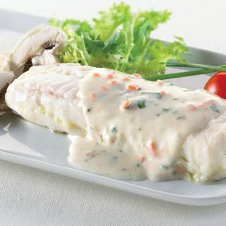 Filete de Merluza con Champiñones